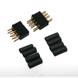 Micro 4R 4 Pin Connector, Black by W S Deans