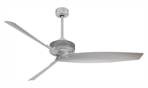 Silver 62In. 3 Blade Indoor Ceiling Fan With Blades Included