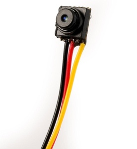 Accfly 800TVL Mini Pinhole Button CCTV Camera 3.6mm Lens Video Smallest Surveillance Hidden Cam