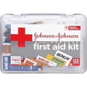 Johnson & Johnson Red Cross All Purpose First Aid Kit by Johnson & Johnson Red Cross
