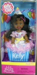 Birthday Party Kelly Doll African American by Kelly