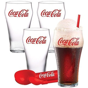 Coca-Cola Ice Cream Float Set 9-piece by Coca-Cola