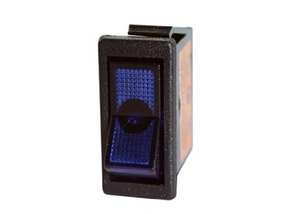 JT&T Products (2606J) - 20 AMP @ 12 Volt - S.P.S.T., Illuminated Rocker Switch, Blue by JT&T Products