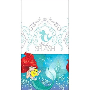 Ariel the Little Mermaid 'Dream Big' Plastic Table Cover (1ct) by The Little Mermaid
