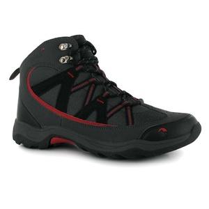 Mens Gelert Ottawa Mid Walking Boots Shoes Charcoal (UK 13 / US 13.5)