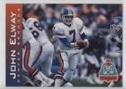 John Elway (Football Card) 1995 TicketMaster South Florida Card Show Promo #NoN