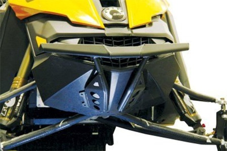 Skinz Protective Gear Front Aluminum Bumper - Powder Coated Black SDFB400-BR-FBK by Skinz Protective Gear