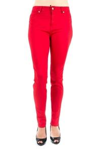 Women Skinny Jean in Colors (9, Red)