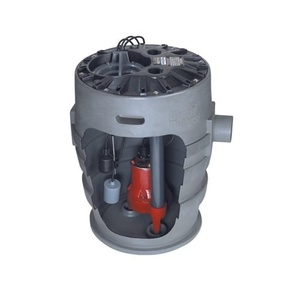 Liberty Pumps P372LE41/A2-EYE 4/10 hp Pre-Assembled Simplex Sewage System with NightEye Technology, 10' Cord and 2