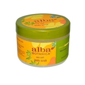 Alba Botanica Botanica: Hawaiian Sea Salt Body Scrub 14.5 Oz (4 Pack) by Alba Botanica