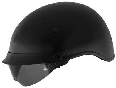 Cyber Helmets U-72 Solid Helmet , Helmet Type: Half Helmets, Helmet Category: Street, Distinct Name: Matte Black, Primary Color: Black, Size: 2XL, Gender: Mens/Unisex 640845 by Cyber
