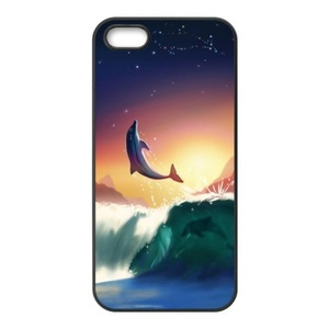 Dolphin iPhone 5 cases,iPhone 5s cases,Custom TPU Phonecases for iPhone 5,iPhone 5s