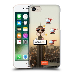 Official Emoji Yolo Photo Graphic Hard Back Case for Apple iPhone 7