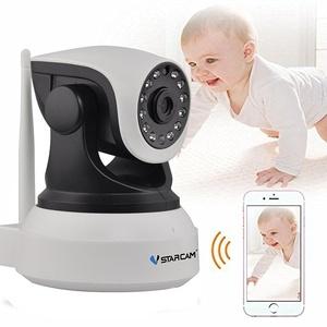 C7824 HD 720P Wireless P2P Night Vision IP Camera Surveillance Security CCTV Network WiFi Camera Infrared IR(White)