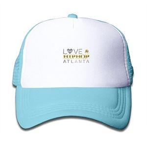 Love And Hip Hop Atlanta Kids Adjustable Mesh Trucker Cap Stars Cotton Bucket Cap
