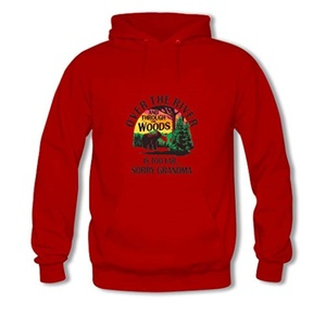 Over The River Printed For Boys Girls Hoodies