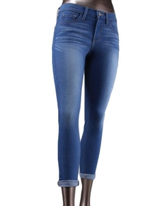 Flying Monkey L9931 Mid Rise Super Soft Cropped Skinny in Mayan (24)