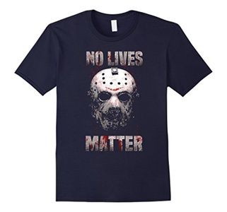 Men's No Lives Matter T-Shirt Large Navy