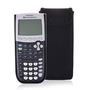 Orchidtent Black Color Neoprene Shockproof Carrying Case Storage Travel Case Bag Protective Pouch Box for Graphing Calculator Texas Instruments TI-84, 83, 85, 89, 82, Plus/C
