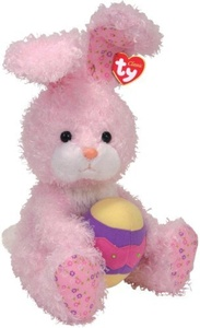 Ty Eggsworth - Pink Rabbit with Egg by Ty Eggsworth - Pink Rabbit with Egg