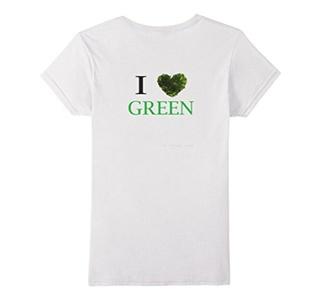 Women's GO SHIRT GREEN XL White