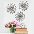 Stratton Home Decor Gold Burst Wall Decor (Set of 3) Will Look Beautiful Hanging On Your Wall.
