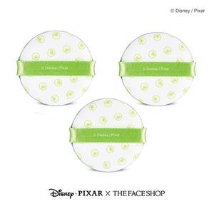 The Face Shop Daily Air Puff Air Fitting Cushion Puff x 3PCS [Disney Collaboration] (Mike)