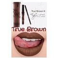 KYLIE JENNER COSMETICS Lip Kit in TRUE BROWN K Shade + Free lip brush by Sweetdanish by KYLIE JENNER