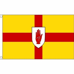 Ulster Flag 5Ft X 3Ft Ireland Irish Banner With 2 Metal Eyelets New by Ulster