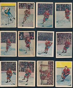 1952 Parkhurst Hockey G/VG-VG avg complete set of 105 cards 37483