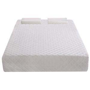 Tangkula Comfort Sleep Memory Foam 10-inch Mattress with 2 Topper Free Pillow (Full)