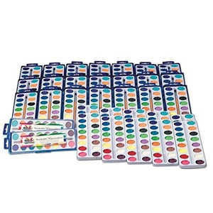 S&S Worldwide Color Splash! Watercolor 16-Color Mega Pack (pack of 36) by S&S Worldwide