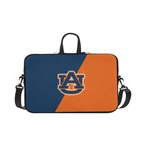 HomeWishes Auburn Tigers Water Resistant Neoprene Sleeve Laptop bag for 11-17 Inch Macbook Pro,Black