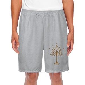 Athletic Men's White Tree Of Gondor Flag Sports Joggers Shorts
