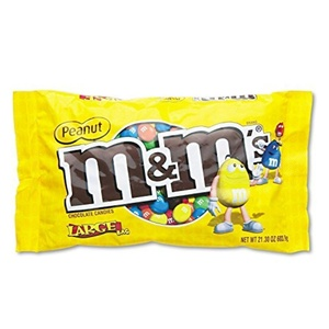 MNM24929 - M amp; M's Milk Chocolate/Candy Coated Peanuts by M & M's