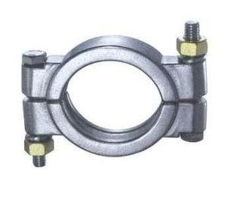 Energy Falls Stainless Steel - 12 In 2-Bolt High Pressure Clamps