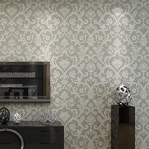 FEI&S European-style living room bedroom written wall TV full tiled cloud 3bedroom wallpaper