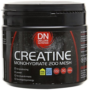 Deluxe Nutrition Creatine Monohydrate 200 Mesh Tub 250 g by Deluxe Nutrition