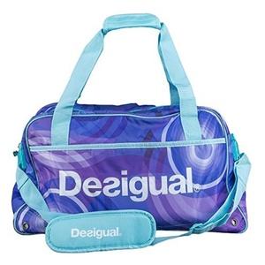 Desigual BOLS _ big Gym Sports Bag Back Royal Blue by Desigual