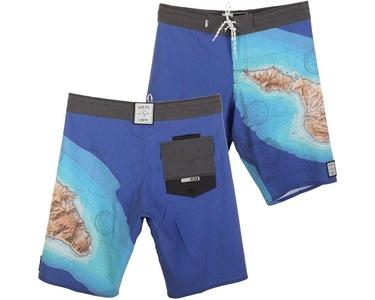 Salty Crew Island Boardshorts - Aqua - Size 34