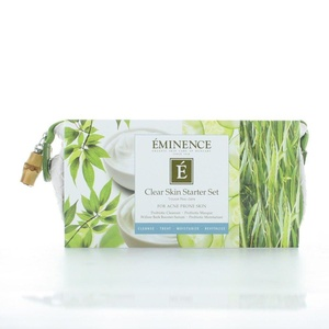 Eminence Clear Skin Starter Set Care the Skin