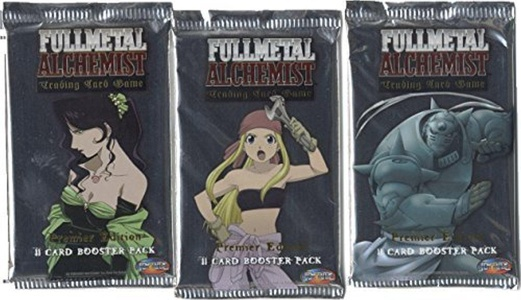 WizKids Full Metal Alchemist CCG, Premier Edition Booster Pack by Full Metal Alchemist