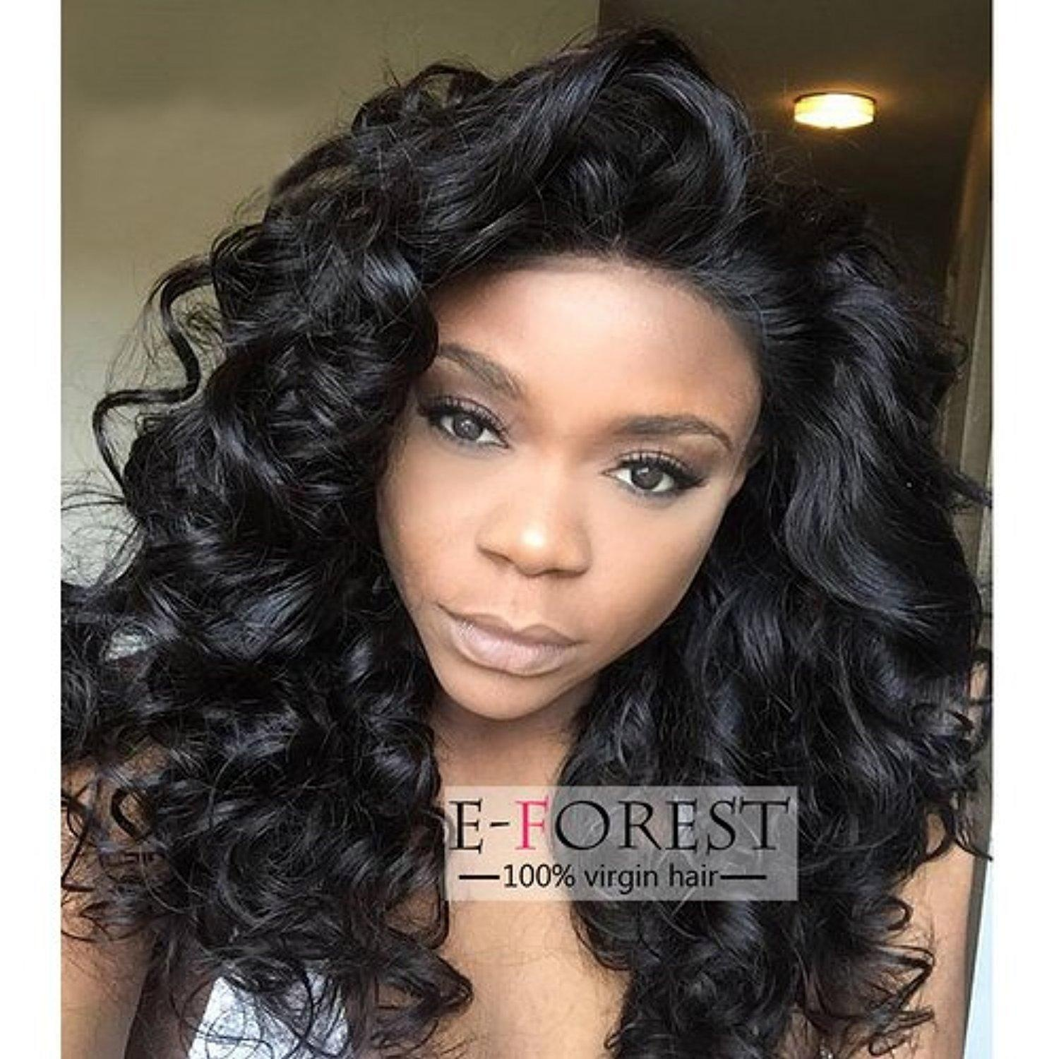 Online Store E Forest Hair 14 Inch Silk Top Lace Front Wig