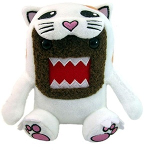 Licensed 2 Play Domo Cat 6 1/2 Plush by Licensed 2 Play