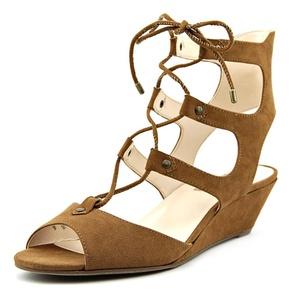 INC International Concepts Mandie Women Open Toe Synthetic Wedge Heel