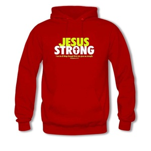 Jesus Strong For women Printed Sweatshirt Pullover Hoody