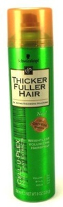 Thicker Fuller Hair Weightless Volume Hairspray 8 oz. Aero (Case of 6) by Thicker Fuller