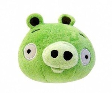Angry Birds 5-Inch Plush - Green Pig by Other Manufacturer