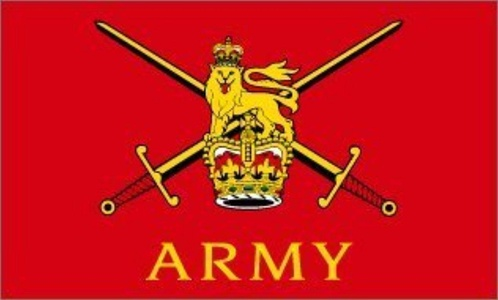 British Army 3' X 2' 3ft x 2ft Flag With Eyelets Premium Quality by 3Ft x 2Ft Flag
