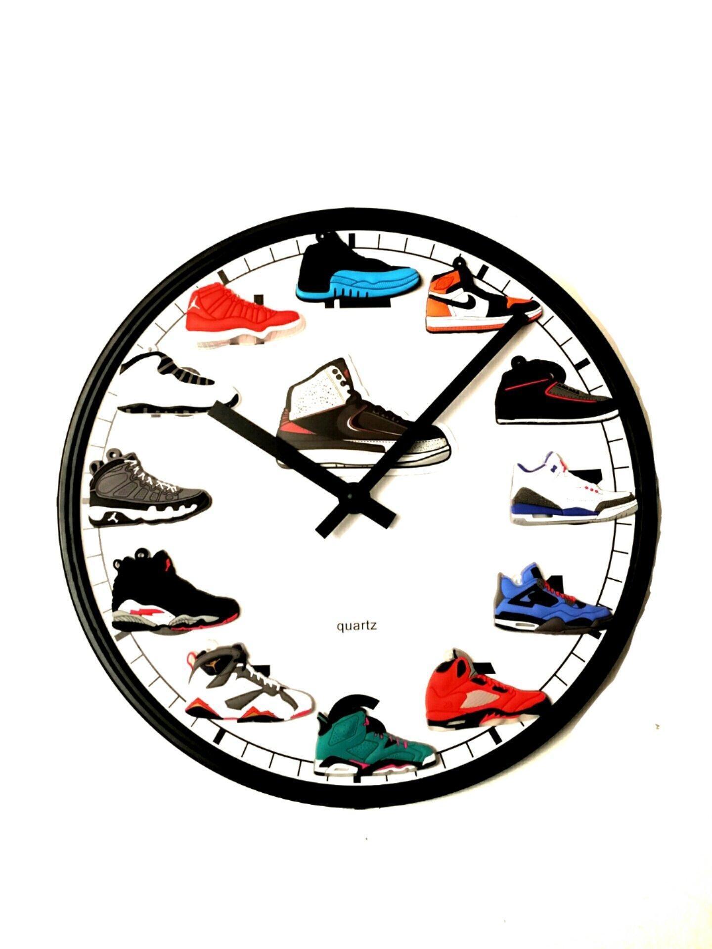 Jordan retro wall clock online store jordan retro 112 3d wall clock amipublicfo Gallery